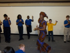 Dancing Stories for K-12 assemblies