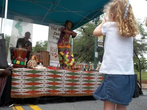 Dancing Stories at festivals