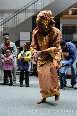 Dancing Stories for cultural celebrations