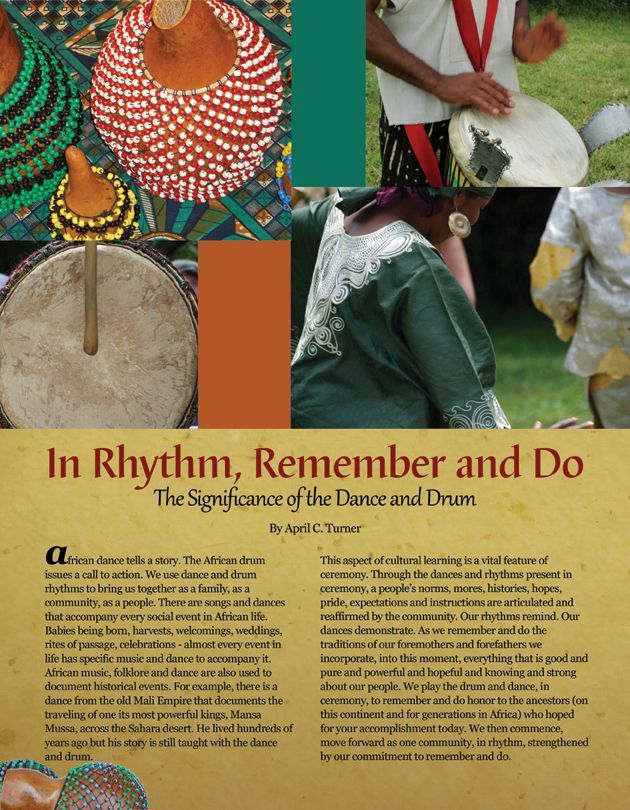 In Rhythm, Remember and Do
