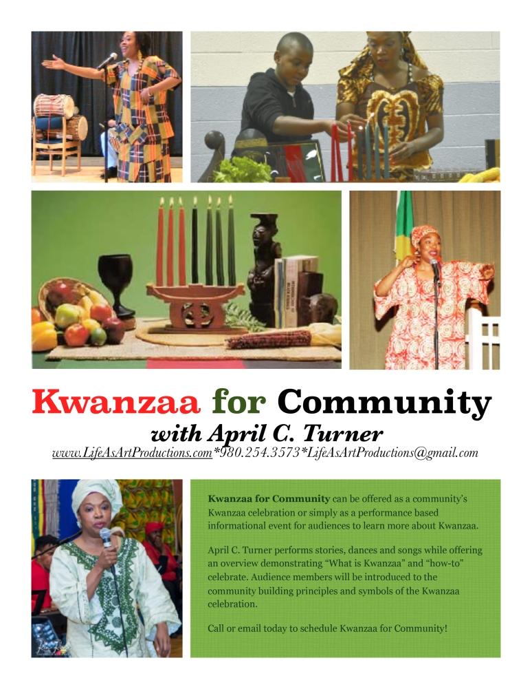 KwanzaaForCommunity.AprilCTurner.2018flyer